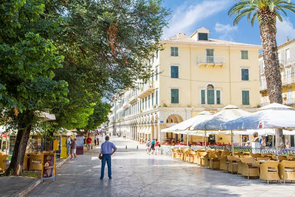 best holiday locations in Corfu