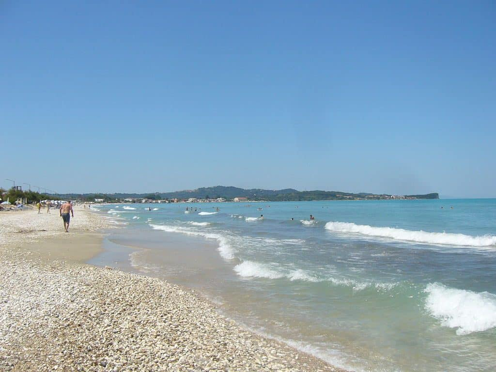 beautiful beaches of Corfu